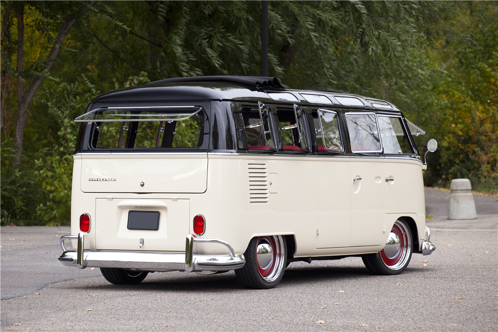 Record Breaking Bus Sells at Barrett-Jackson for $302k