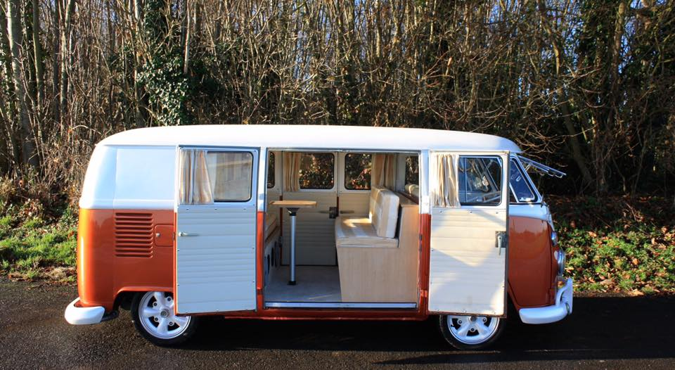 Orange 1965 VW Split Screen Camper