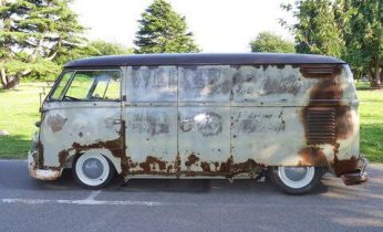 1961 VW Double Door Panel Van