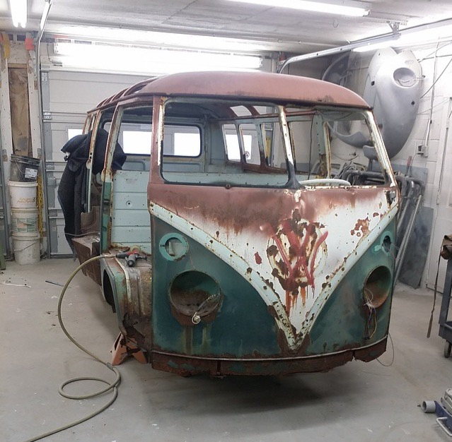From Rusty 13 Window to Pristine 21 Window Deluxe
