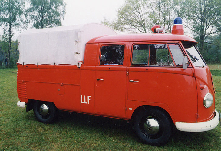 35 VW Fire Trucks and Ambulances