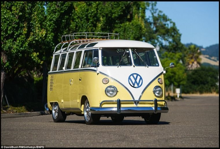 Yellow Vw Buses And Campers Vw Bus And Camper Part 6