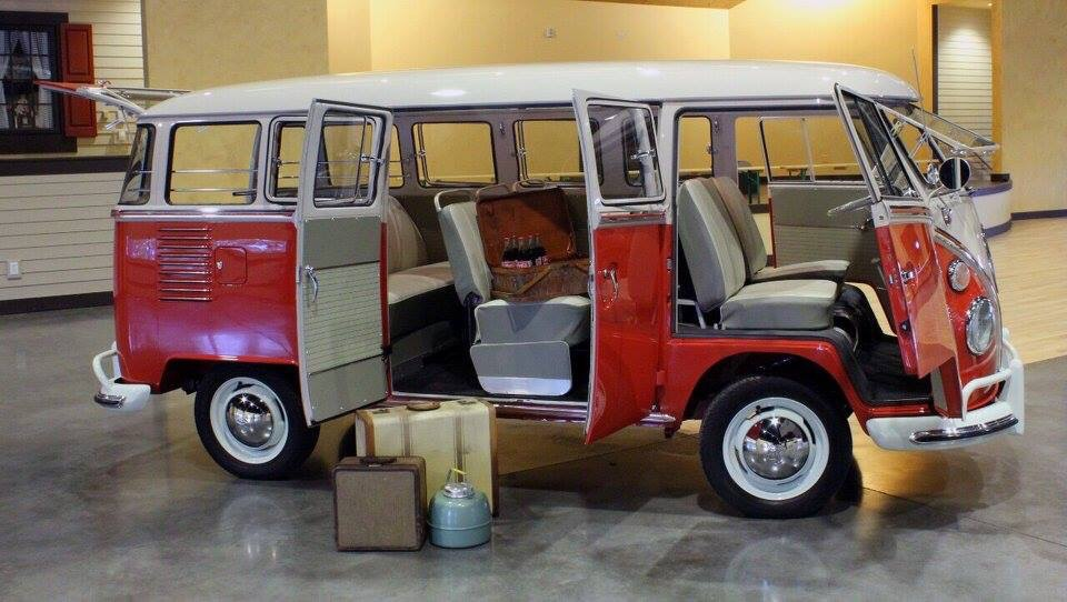 1963 VW 15 Window